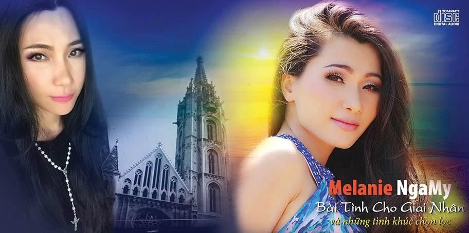 """Đức Tuấn: Mélanie NgaMy thành công với 12 ca khúc trữ tình trong CD  """"Bài Tình Cho Giai Nhân"""""""