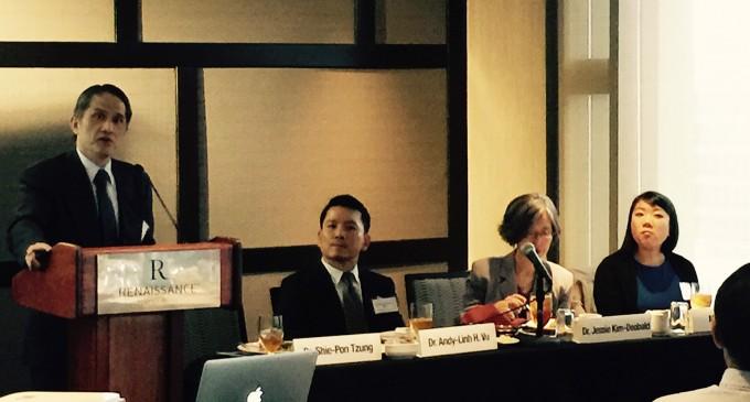 Tổ chức phòng ngừa Bịnh Gan B- họp báo  quảng bá cho ngày khám bệnh gan miễn phí