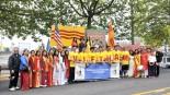 """Xe Hoa Cộng Đồng Việt Nam liên tiếp đoạt giải thi đua trong diễn hành """" Ánh Đuốc Seattle Parade"""" năm 2015"""