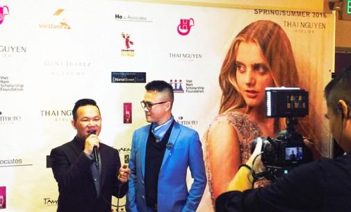 Dược Sĩ Tâm Nguyễn (Little SaiGon) cùng Luật Sư Ty Hồ (Hội Luật Gia Mỹ gốc Việt) và Thái Nguyễn Couture gây quỹ thành công trong đêm Glamorous Hearts Fashion