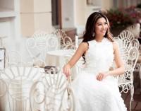 Hoa hậu Người Việt Thế Giới: Brandy Ngô (Tacoma-WA) thanh lịch và sành điệu với thiết kế Sơn Collection
