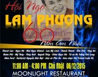 """Hội Ngộ LAM PHƯƠNG và tặng sách – """"60 Năm Âm Nhạc LAM PHƯƠNG """" , 6 tháng 12, 2015, Westminster, Cali"""