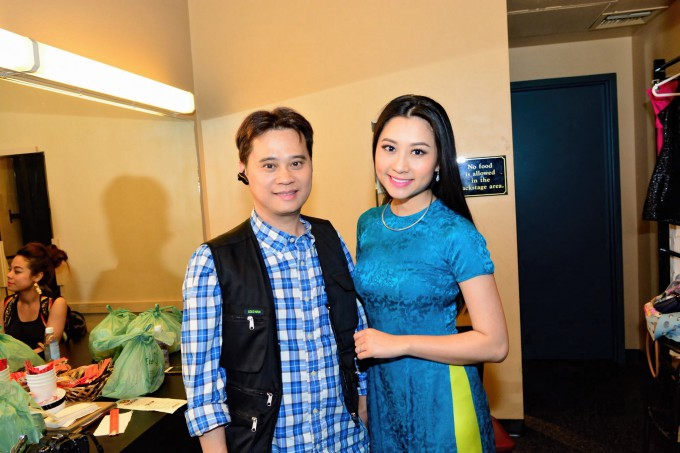 Ricky and Hoang Thuc Linh