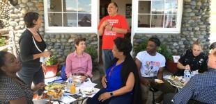 Người Việt vùng Rainier tham gia họp hội hàng tháng tại nhà hàng thành công Stone House- Rainier Beach-Seattle
