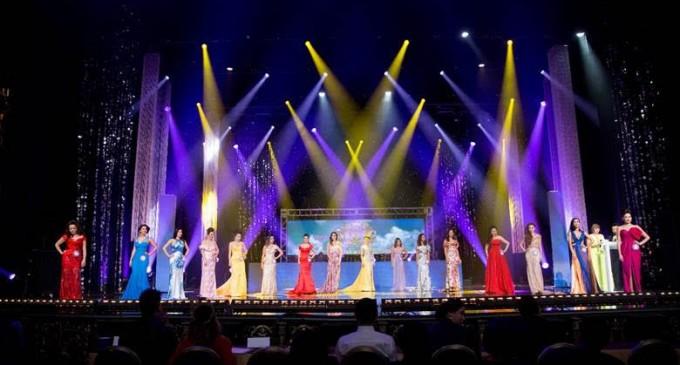 Khánh Hoàng & Thùy Vân thành công trong vai trò MC và Brandy Ngô trình diễn thời trang kỳ thi Hoa Hậu Thế Giới Las Vegas- MC Entertainment