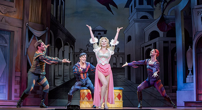 """Review: """"Kiss Me Kate"""" at 5th Avenue Theatre: Apr 6 to Apr 29, 2018"""