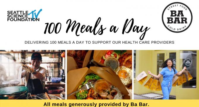 Hãy giúp Ba Bar Kitchen hỗ trợ thức ăn cho nhân viên y tế tuyến đầu trong đại dịch