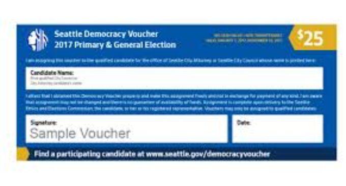 Hãy đại diện cho thành phố của quý vị: Chương Trình Voucher Dân Chủ Hiện Đã Mở Cho Các Ứng Cử Viên Năm 2021