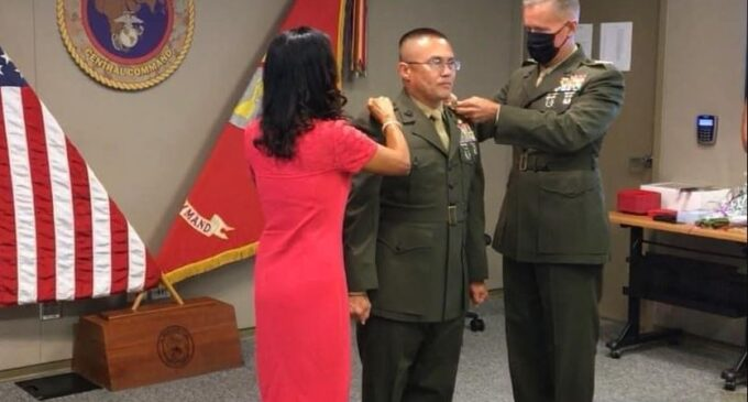Lần đầu tiên, TQLC Mỹ có thiếu tướng gốc Việt