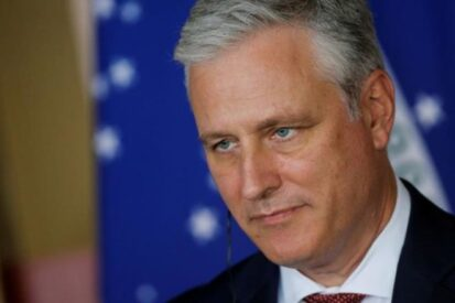 Cố vấn An ninh Quốc gia Mỹ ông Robert O'Brien. (Ảnh: Reuters)